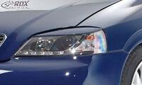RDX Scheinwerferblenden Opel Astra G Böser Blick Blenden Spoiler Tuning