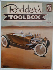 SIGNED KEITH WEESNER PRINT RAT HOT ROD 1928 29 FORD ROADSTER VTG STYLE POSTER
