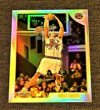 1998-99 Vince Carter Topps Chrome Refractor RC #199 rookie HOF