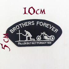 Quality Iron/Sew on BROTHERS FOREVER Biker patch harley Davidson patches