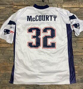 Reebok New England Patriots Jersey Devin McCourty #32 White Sz 2XL Clean!