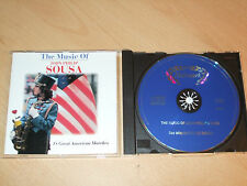 John Philip Sousa - The Music of (CD) 18 Great American Marches - Mint/New