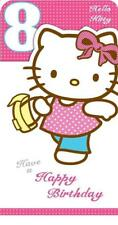 HELLO KITTY 8TH HAVE A HAPPY BIRTHDAY CARD NEW GIFT
