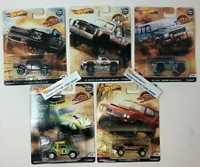 5 Car Set * 2019 Hot Wheels DESERT RALLY Car Culture Case K * IN STOCK