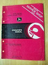 Original John Deere 1650 Series Drawn Chisel Plow Operators Manual Om N200003