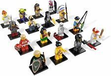 Lego New Minifigure Series 3 8803 Complete Set of 16 Minifigures