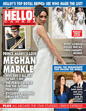 Hello Canada Exclusive Magazine Prince Harry Loves Meghan E 2017 Nov #582  New