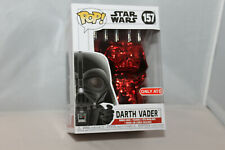 Funko Pop! Vinyl Figure - Star Wars #157 - Darth Vader [Red] - Target Exclusive