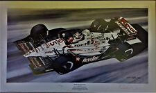 Nigel Mansell 80 x 47.5  cms limited edition F1 GP art print by Colin Carter
