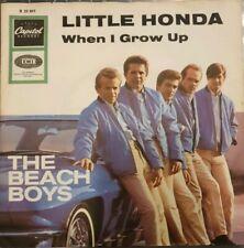 7 45 The Beach Boys - Little Honda RARE Car-Cover Top Condition