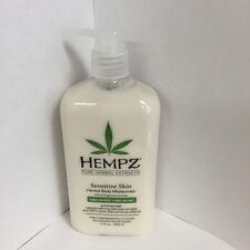 Hempz for Sensitive Skin Herbal Daily Body Moisturizer Lotion 17 Oz