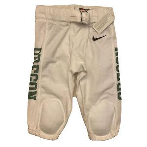 Nike Youth Medium University Oregon Ducks Football Game Pants White 693211