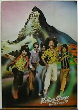 The ROLLING STONES Tour Of Europe '76 Concert PROGRAM Minty! MICK JAGGER