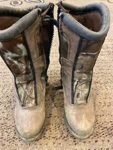 Youth Size 13 M Snake Boots Waterproof Boots Hunting Boots Snake Proof Boots