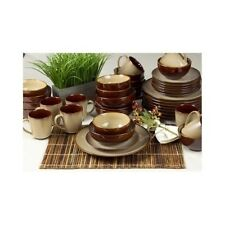 Dishes Dinnerware Service For 8 Home and Kitchen Dish Sets Rustic Decor 40pcs