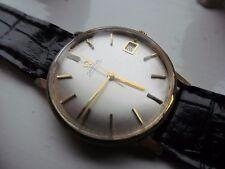 Vintage Omega 24 jewel gents auto date 562 cal  wrist watch