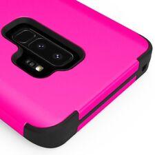 SAMSUNG GALAXY S9 PLUS G965 PINK BLACK TUFF 3-PIECE SHOCKPROOF CASE IMPACT COVER