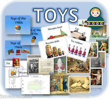 TOYS EYFS / KS1 History cross curricular topic  primary teaching resources CD