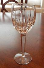 """RARE! WATERFORD CRYSTAL BLACKROCK PATTERN CLARET WINE GLASS (S) 8 1/8"""" TALL MINT"""