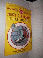 LA SCALA A CHIOCCIOLA Mary R Rinehart Newton 1994 libro romanzo narrativa storia
