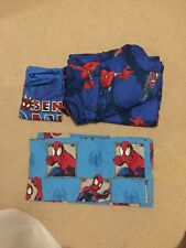Spiderman sheets, pillowcases Full & Drapes