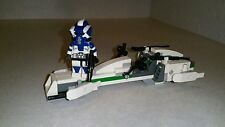 Lego Star Wars ARF Scout Commander Boomer of the 501st and BARC speeder set