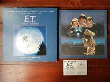 ET Record Set 1982 Michael Jackson Quincy Jones John Williams Spielberg + Poster