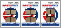 Yamaha YZF600 R Thundercat 96-03 Full Set Front & Rear Brake Pads (3 Pairs)