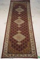 2' 6'' x 10'  Stunning Osmanabad Wool & Silk Tabriz Attractive Area Rug
