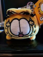 "Brand New 3"" Garfield square super soft squishy mini plush toy licensed by PAWS"