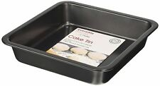 Everyday Baking 20cm Non Stick Square Cake Tin Black. Delivery
