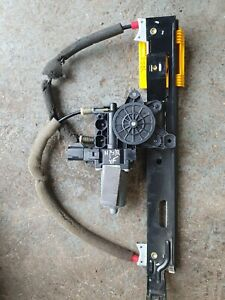 JAGUAR XF O/S/R PASSENGER SIDE REAR WINDOW MOTOR REGULATOR