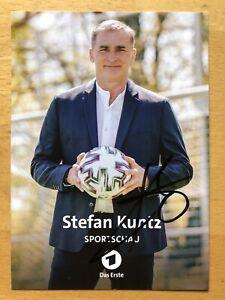 Stefan Kuntz Ak Ard Sportexperte Autograph Card Original Signed