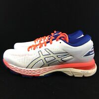 ASICS Gel-Kayano 25  Athletic Running Stability Shoes - WHITE - Womens