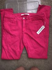 New Joe's jeans Pink Glo The Skinny 32 Denim  Hot Pink