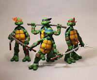 NECA TMNT Teenage Mutant Ninja Turtles Model Color Headband Action Figures New 5