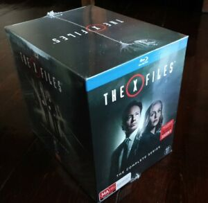 X Files, The Complete Collection 1-11 60 DISCS Blu-ray region B brand new SEALED