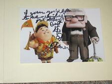 ED ASNER Signed 4x6 UP Movie Photo DISNEY PIXAR AUTOGRAPH 1T