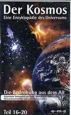VHS Der Kosmos Eine Enzyklopädie des Uni. - Die Bedrohung aus dem All Teil 16-20