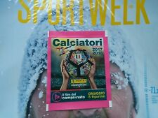 BUSTINA 2 uscita film campionato figurine C11-C15 Calciatori 2017 2018 panini