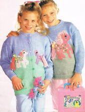 My Little Pony Jumper & Cardigan Knitting Pattern  BARGAIN PRICE