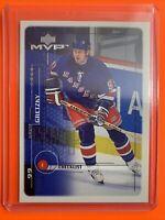 1998-99 Upper Deck MVP Checklist #220 Wayne Gretzky New York Rangers