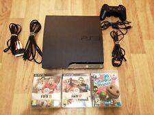 PS3 Sony Playstation 3 320 GB CECH-3003B Console controller HDMI freepost GAMES
