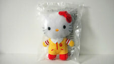 McDONALD'S HELLO KITTY Plush Toy Ronald McDonald X Hello kitty 2012  NEW SEALED