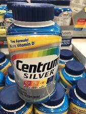 250 Tablets Centrum Silver Men's 50+ Free Shipping