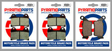 Aprilia 750 Dorsoduro Factory 2012 Front & Rear Brake Pads Full Set (3 Pairs)