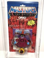 AFA 85 He-Man 1984 MOTU Mattel Orko Series 3 High Grade HTF (80-85-85) Clear NM+