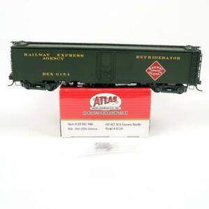 Atlas HO Scale Railway Express Agency REA REX 6154 ACF Reefer 20-001-966