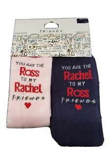 Friends Tv Show Ladies & Men Socks You are Ross to my Rachel to my Ross 4-8 6-11