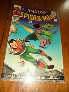 The Amazing Spider-Man Vol. 1 # 39 . August 1966.  Marvel comic.